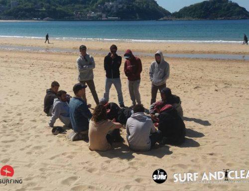 """Surf and Clean y FESurfing colaboran en la """"Defensa del Mar"""""""