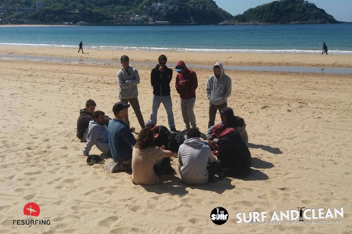 "Surf and Clean y FESurfing colaboran en la ""Defensa del Mar"""