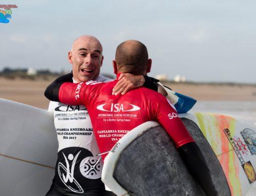 """Turno para la nobleza en el """"Cantabria ISA Kneeboard World Championship"""""""