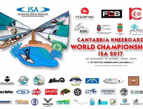 El mundial ISA de Kneeboard aterriza en la playa cántabra de Somo