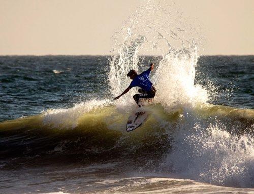 Paolo Giorgi consigue el pase a segunda ronda en la jornada inaugural del Vissla ISA World Junior Surfing Championship 2018