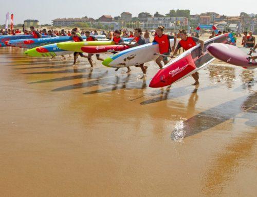 ESPERANZA BARRERAS y ROMAN FREJO campeones del Suances Beach Race