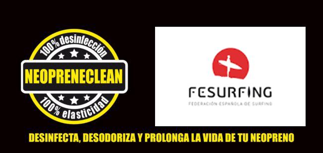 La Federación Española de Surfing cierra un acuerdo de colaboración con la empresa española NeopreneClean