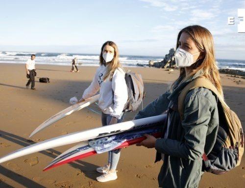 La actividad de los equipos nacionales de surf vuelve a escena con una rigurosa aplicación del protocolo de actuación Covid-19