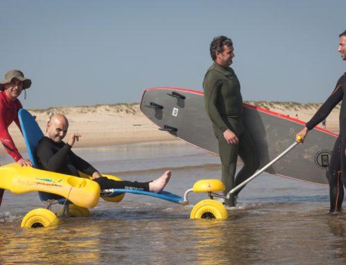 Las playas cántabras marcan el camino a seguir en la accesibilidad para todos sus visitantes