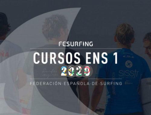 La Federación Española de Surfing hace públicas las fechas de las convocatorias de los nuevos cursos ENS nivel 1