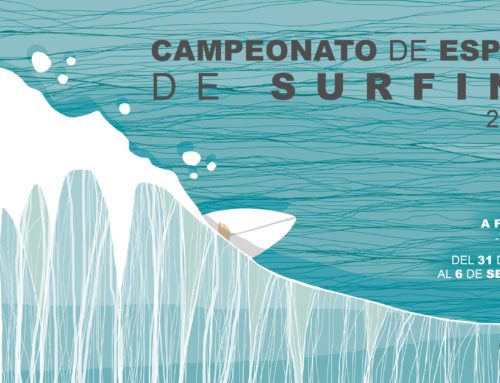 Hoy jueves día 6 de agosto se abren las inscripciones para el Campeonato de España de Surfing 2020