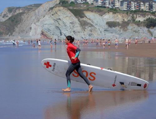 Los surfistas vuelven a ser clave en un rescate en la playa