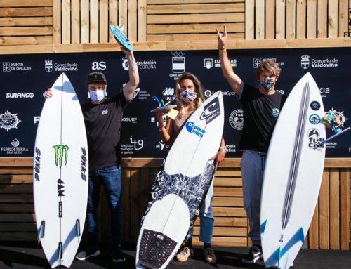 Luis Díaz y Nadia Erostarbe nuevos campeones de España absolutos de Surf 2020