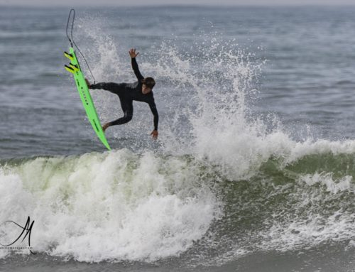 Moisés Domínguez; campeón de España sub 18: talento y alegría para un surfing de altos vuelos