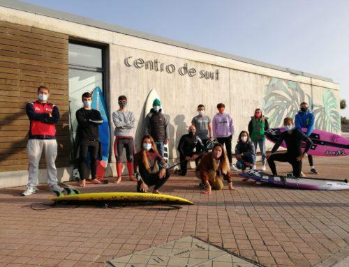 Celebradas con éxito las dos concentraciones de los equipos nacionales de SUP y longboard