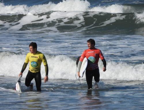 Éxito en la concentración portuguesa de la selección española absoluta de surf