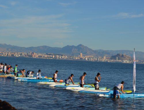 Celebrada con éxito la La Gran Carrera del Mediterráneo SUP Race en Santa Pola, Alicante
