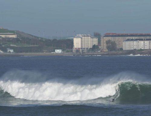 A Coruña será el escenario del campeonato de España de olas grandes de esta temporada