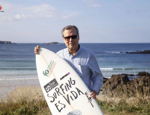 Carlos García reelegido para presidir la Federación Española de Surfing