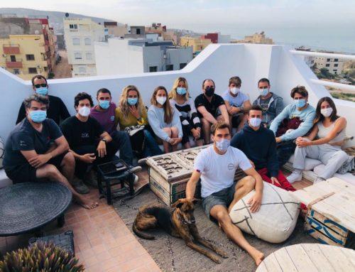 La selección nacional de surf absoluto regresa de Marruecos con los deberes hechos