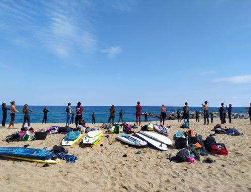 El área de formación de la Federación Española de Surfing sigue a pleno rendimiento