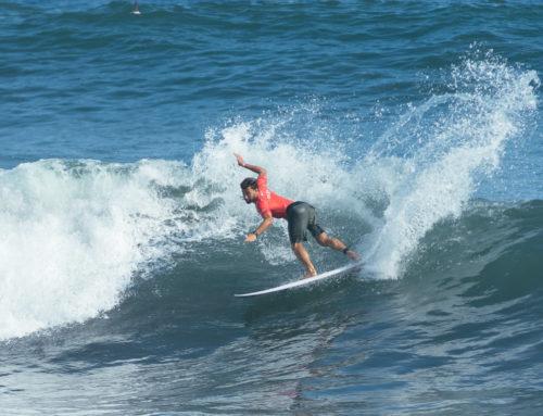 Pleno de los españoles en la jornada inaugural del Surf City El Salvador ISA World Surfing Games 2021