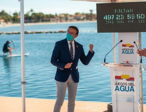 ADESP presenta los primeros Juegos del Agua, que contarán con 14 Campeonatos de España oficiales y se celebrarán en la Costa Cálida