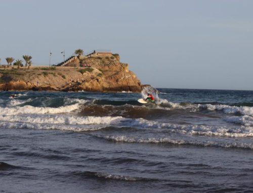 Buen espectáculo en la primera prueba del Fesurfing Junior Series celebrado en Murcia