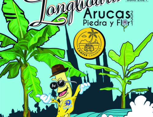 Los próximos días 10 y 11 de julio se celebrará en Arucas el Camper Canarias- Festival Nacional de longboard Arucas Piedra y Flor 2021