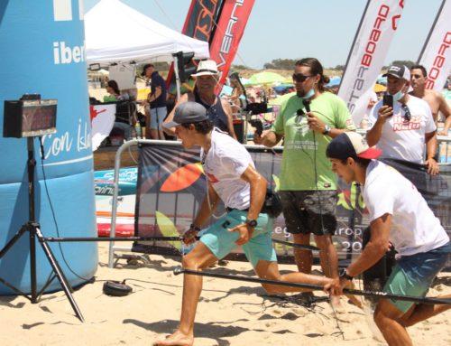Los gaditanos Fernando Pérez y Antonio Morillo fueron los destacados en la prueba Discover Huelva SUP Festival 2021