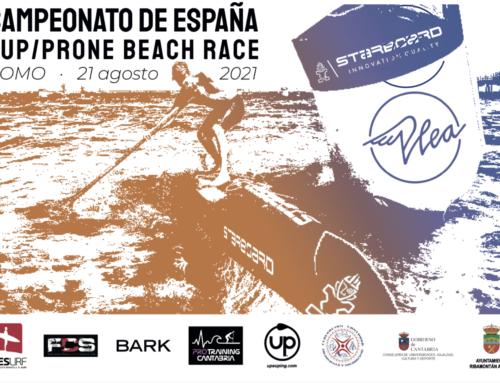 El próximo 21 de agosto se celebrará el Campeonato de España de SUP Beach Race y Prone Beach Race