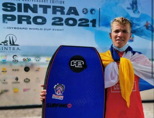 Los españoles dejan patente en el mundial de Sintra el gran nivel de bodyboard que alberga España