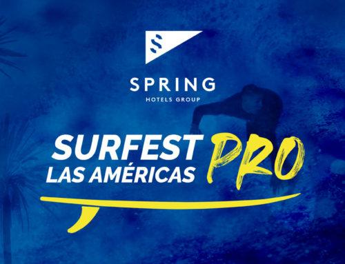 Playa de Las Américas, en Arona, vuelve a ser protagonista con el Spring Surfest Las Américas Pro