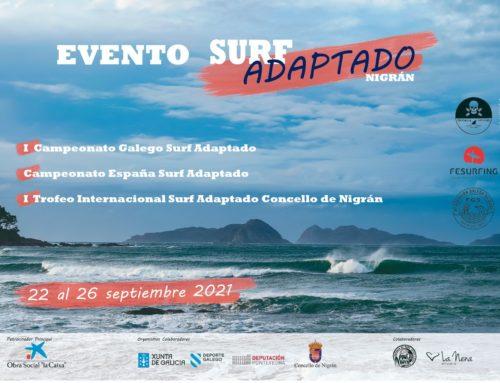 Todos los deportistas inscritos en el Campeonato de España de Surf Adaptado dispondrán de alojamiento gratuito